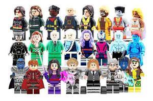 Coleccion Sw3 X Men Heroes Mutantes Compatible Bloques