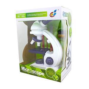 Estudio Y Atracciones Para Los Niños Microscopio 80x, 200x,