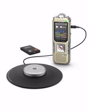Grabadora Digital De Voz Philips Dvt Graba 360° Mp3 4gb