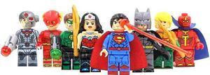 La Liga De La Justicia Justice League Compatible Bloques