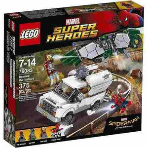 Lego Spiderman Homecoming Buitre Iron Man Spider Y Shocker