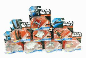 Star Wars Hot Wheels 8naves De 8cm Mattel