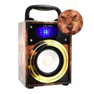 Velikka Bocina Recargable Usb Radio Fm Vkk- Mini Leon
