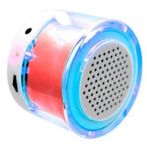 Velikka Mini Bocina Usb Radio Fm Aux Led Recargable St-79 Ro