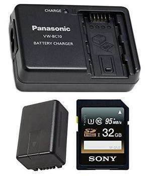 Batería De La Videocámara De Panasonic Y Paquete De Viaje