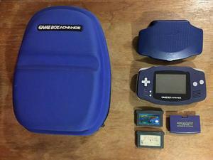 Game Boy Advance Con Accesorios Y Juegos En Buen Estado Gba