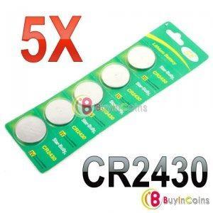 Paquete De 5 Pilas Bateria Cr Dl Ecrlc