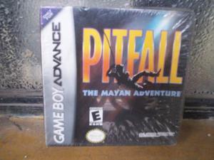 Pitfall The Mayan Adventure Gba Game Boy Advance