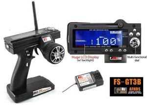 Radio Control Transmisor 3ch Flysky Carro Rc 2.4 Ghz Traxxas
