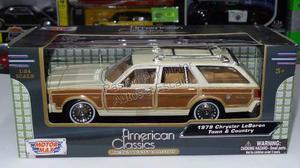 1:24 Chrysler Lebaron Town Country  Bco Motor Max Ccaja