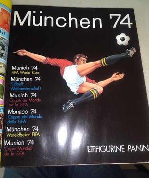 Album Mundial Panini Alemania 74 Nuevo Replica Impresa