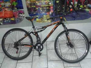 Bicicleta Marca Br Rodada 27.5 Nueva Doble Suspension Y Disc
