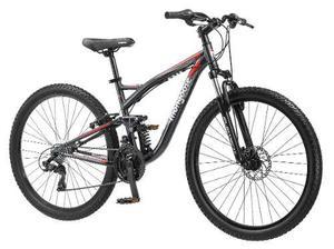 Bicicleta Mongoose Mtb Launch 2.4 Dh Alum R Vel
