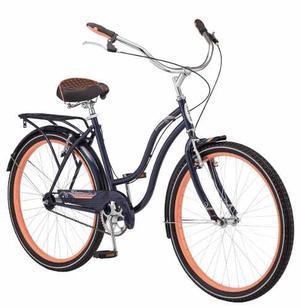 Bicicleta Schwinn Baywood Cruiser Rodada 26 Equipada  !