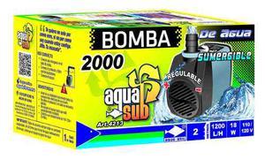 Bomba De Agua Sumegible Aquakril  L/h 2 M 18 W