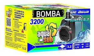 Bomba De Agua Sumergible Aquasub  L/h 3.2m 40 W