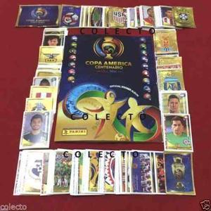 Estampas Sueltas Copa America Usa  Del Album Panini
