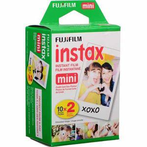 Fujifilm Instax Mini Film Pelicula Instax Twin Pack 20 Hojas