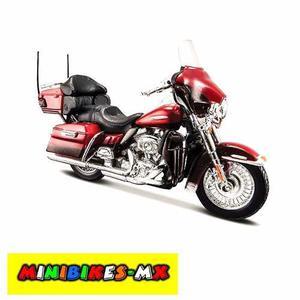 Harley Davidson Flhtk Electra Glide  Escala 1:12 Maisto