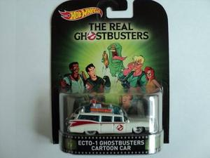Hot Wheels Retro * Ecto 1 Ghostbusters Cartoon Car*