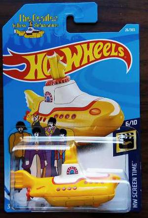 Hot Wheels, The Beatles Yellow Submarine