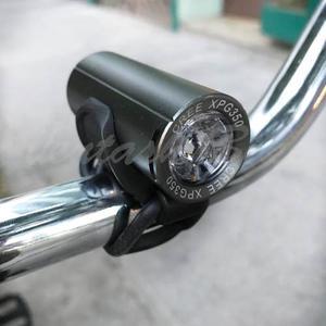 Lampara Luz Led Cree Frontal Bicicleta Usb Aluminio