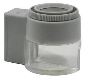 Lupa Vaso 23 Mm 8x Con Led Reticulada Obi