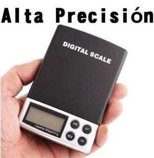 Mini Bascula Gramera Digital Joyera De 0.1grs A  Grs