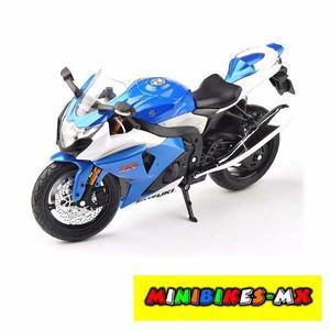 Moto De Colección Suzuki Gsx R Escala 1:12 Automaxx