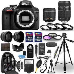 Nikon D Mm +  Mm + Paquete De 30 Piezas