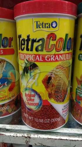 Tetracolor Tropical Granulos 300gr Aleman En Oferta