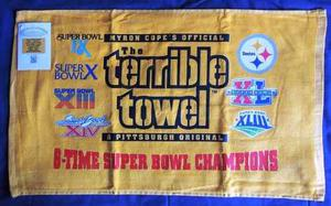 Toalla Terrible 6 Times Champions Pittsburgh Steelers Nfl