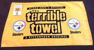 Toalla Terrible /terrible Towel Pittsburgh Steelers Logo Nfl