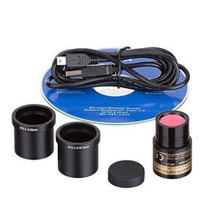 Usb De La Cámara Md35 Amscope Nueva Microscopio Digital
