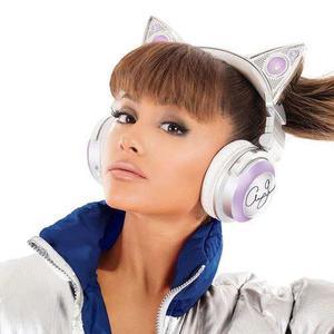 Ariana Grande Audífonos Inalámbricos Oreja De Gato Luces