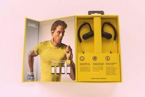 Audifonos Inalambricos Bluetooth Jabra Sport Pace Amarillos