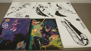 Batman comics lote 11 tarjetas de coleccion