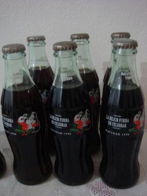 Botellas De Coca Cola Navideñas Y Otras Colecciones.