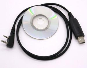 Cable De Programación Usb Y Cd Para Baofeng Uv-5r Y Mas