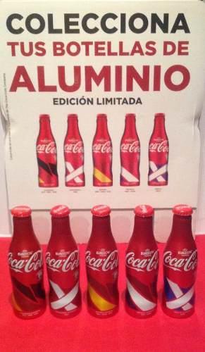 Coca Cola Botellas De La Eurocopa De Aluminio