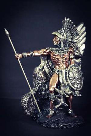 Figura Caballero Águila Plata 999 Electroformado Envio Inc.