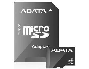 Memoria Micro Sdhc 16gb Adata Clase 4 Ausdh16gcl4-ra1