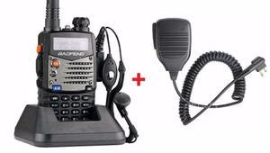 Radio Baofeng Uv-5ra Dos Vias + Microfono Solapa Gratis