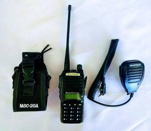 Radio Baofeng Uv-82 L Vhf/uhf + Micro Solapa + Funda Nylon