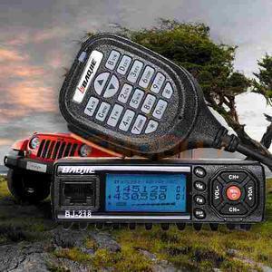 Radio Vhf / Uhf Mini Para Carro, Camioneta, Trailer, Etc