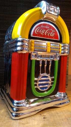 Rocola Coca Cola Galletero De Cerámica