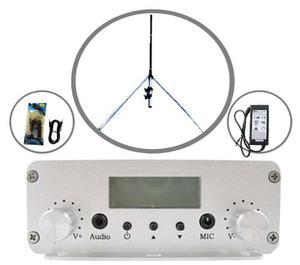 Transmisor Radio Fm 20 A  Watts Con 16 Mts De Cable