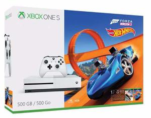 Xbox One S 500gb Con Hot Wheels Y Forza Horizon 3 A Msi