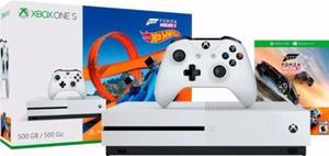 Xbox One S Consola Forza Horizon 3 + Hot Wheels + Descuento