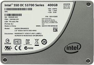 Disco Estado Solido Ssd Intel Sata 6gb/s 400gb 2.5´´ 7mm